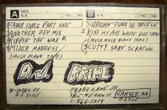 dj prime (libraryofvinyl) Tags: history boston hiphop tapes leccoslemma