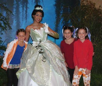 Princess Tiana & friends