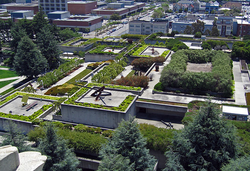 Oakland Square Garden, as seen from above. Photo by T.L. Cheung