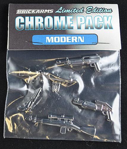 BrickArms Chrome Modern Pack