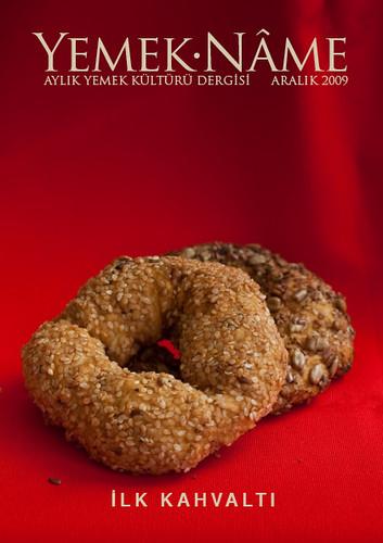Yemek.Nâme Aralık sayısı kapağı