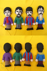 The Beatles (Lusco & Fusco) Tags: rock drugs musica beatles feltro chaveiro