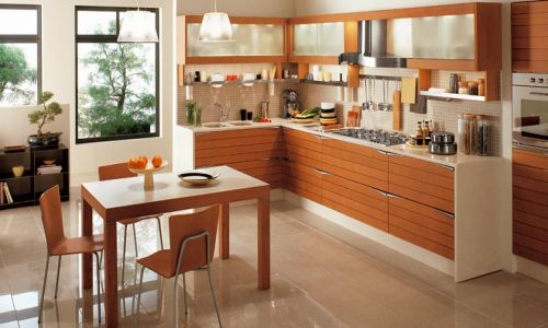Feng Shui Based Asian Kitchen Design