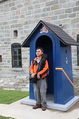 citadel guard (1600 Squirrels) Tags: canada photo lenstagged quebec 1600squirrels quebeccity vieuxquebec 2x3 citadelle canon24105f4 5dii fall2009trip