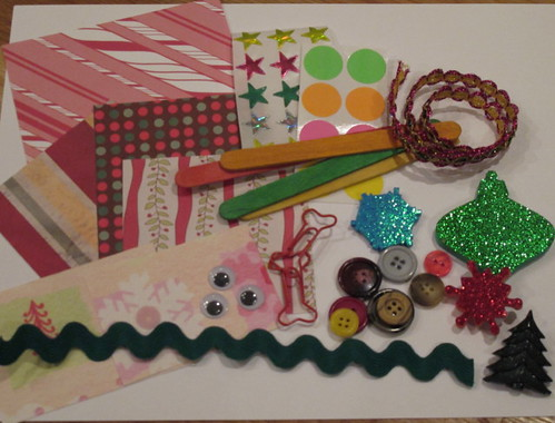 Some of the mini craft kit goodies
