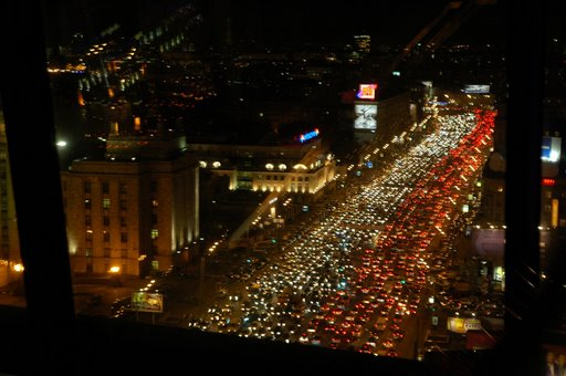 kemacetan lalu lintas