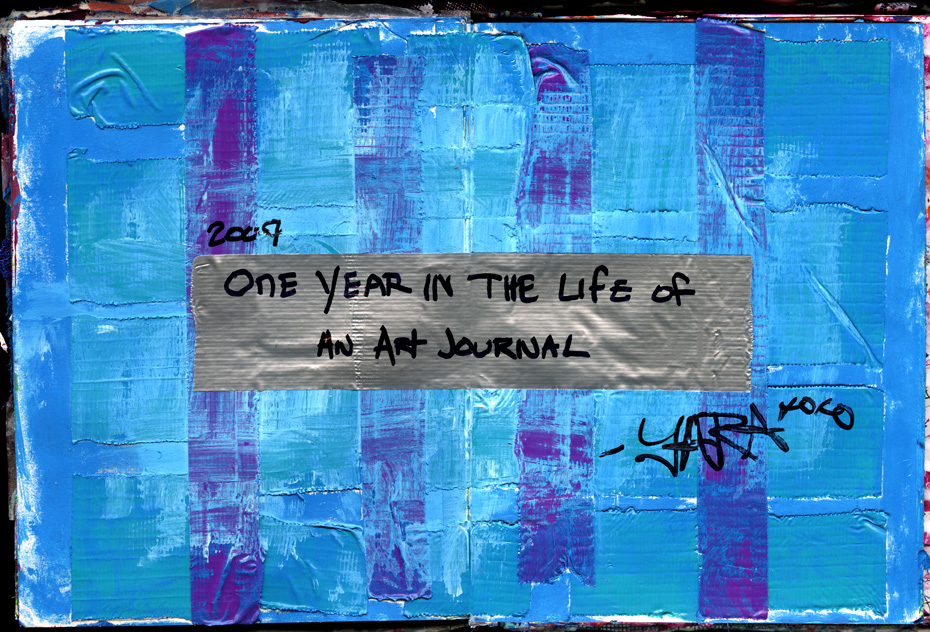 One Year Art Journal Title Page