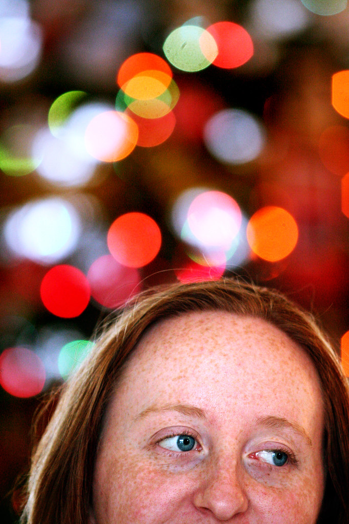 Ashley Shafer Christmas portrait