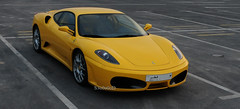 (! S3o0o0oD !) Tags: sunset car yellow speed italian fast super ferrari supercar qatar  saoud               s3o0o0od