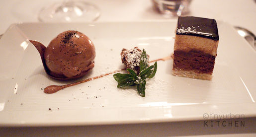 Melisse chocolate dessert