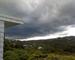 Storm moving in over Northbridge
