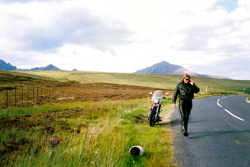 Motorcycle Camping In Scotland, 1994