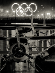 Planes, planes and Olympic Rings
