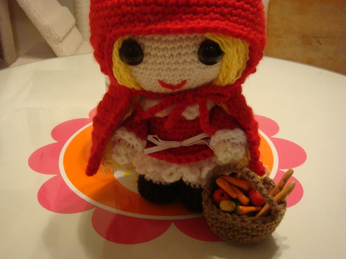 Little Red Riding Hood and her basket of goodies