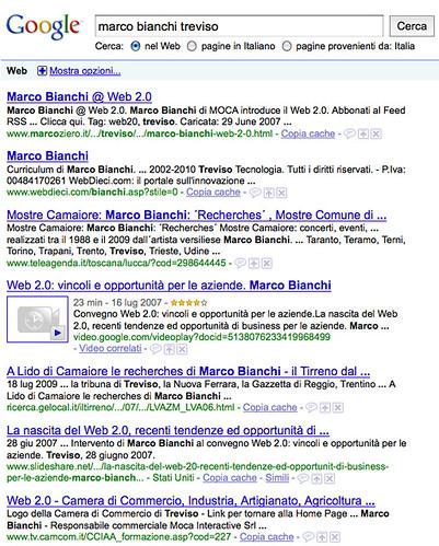 Risultati di Google