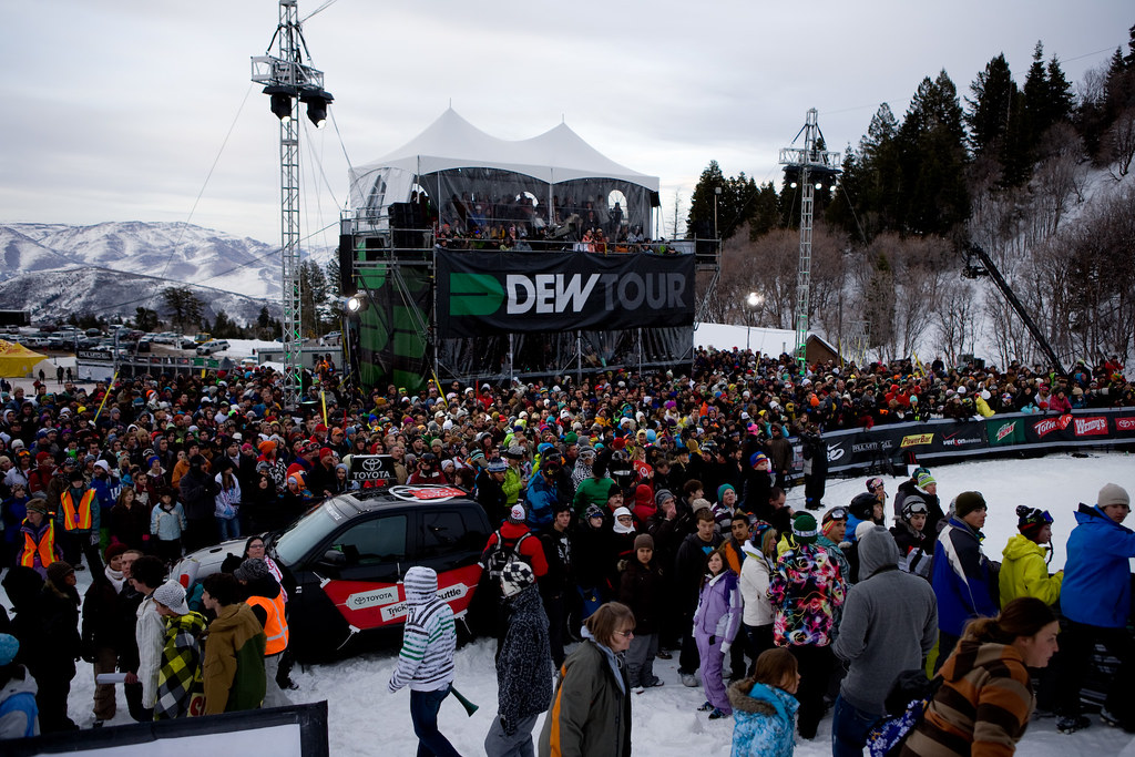 Crowd Shots from Snowbasin