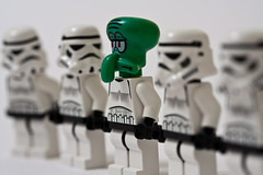 Lego Squidward enlists as a Stormtrooper (Sad Old Biker) Tags: new uk wallpaper england white storm trooper macro brick green film up canon dark out movie print children poster geotagged toy photography rebel death star photo starwars kid funny europe kevin dof child sad force close place lego photos bokeh joke side helmet bob evil parade line lucas wrong galaxy card photograph darth spongebob scum empire laugh jedi stormtrooper imperial wars vader sponge caught greeting imposter squidward fng stormie poulton rumbled infiltrator kevinpoulton sadoldbiker