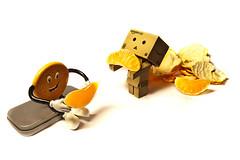 happy meal (Dennis_F) Tags: orange man color mandarine toy lunch happy essen amazon keks cookie sitting angle time little box eating sony wide creative sigma wideangle meal figure dslr clementine 1020 farbe ultra spielzeug figur schale uwa doradita danbo ultrawideangle sigmalens maskottchen a700 sigma1020 uww revoltech citrusreticulata sonyalpha sonydslr boxtoy alpha700 sonya700 sonyalpha700 dslra700 danboard sigma1020456 sigmaobjektiv revoltechdanbo miniamazondanboard danboeats