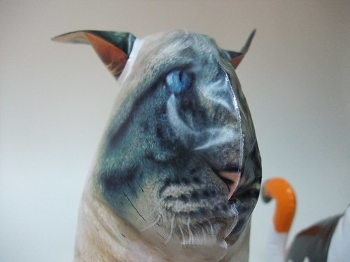 Photorealistic Cat Face - Inflatable Cat