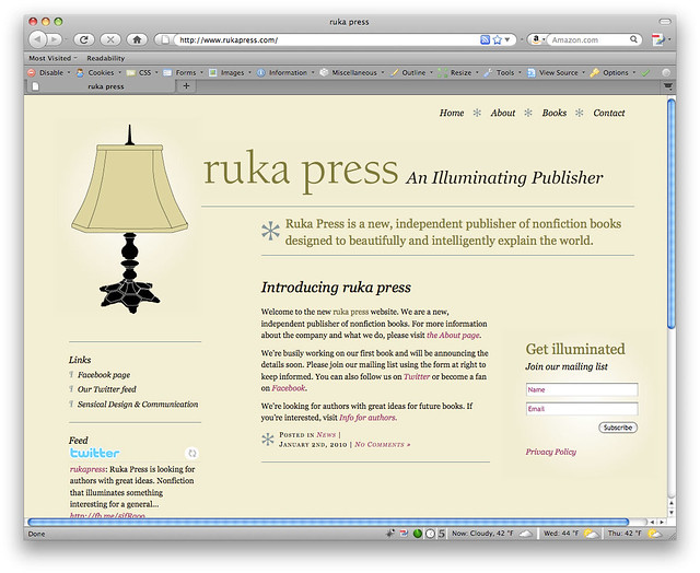 Ruka Press Website