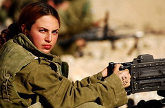 Female Soldier at the Shooting Range (Israel Defense Forces) Tags: girls israel women soldiers israeli idf womensoldiers idfsoldiers israeldefenseforces groundforces girlsoldiers femalesoldiers infantryinstructors