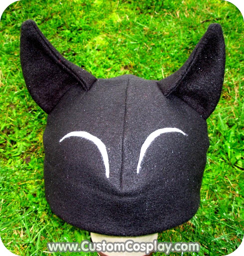 0baddafd0800b Custom hat for Myntkat (SomethingCute) Tags  black anime art hat cat grey  kitten
