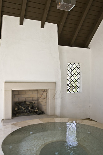 Spa and Fireplace