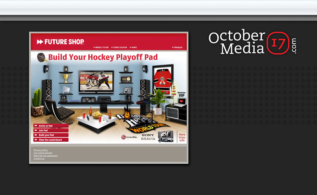 Future Shop Playoff Pad