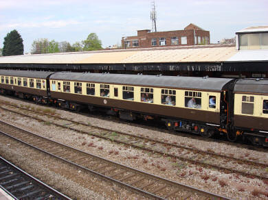 Train for heritage charters (UK)