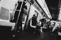 6 (alicia mess) Tags: madrid blancoynegro underground metro nieve bn rastro tiovivo