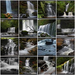 Waterfalls in Wales through my lens (Martyn.Smith.) Tags: longexposure water collage southwales wales canon river landscape eos photo waterfall fdsflickrtoys flickr mosaic cymru falls breconbeacons waterfalls pontsticill cachoeira cascada slowshutterspeed chutedeau cascata waterval talybont flickrtools ystradfellte waterimages sgwdyreira henrhyd landscapephotos scwd 450d wasserfal clydachgorge caídadeagua welshwaterfalls sgwdgwladys waterfallcollection sgwdddwli sgwdeinongam waterfallsinwales sgwdisafclunglyn sgwdclunglyn