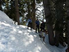 Summer trailhead for Lake Ann