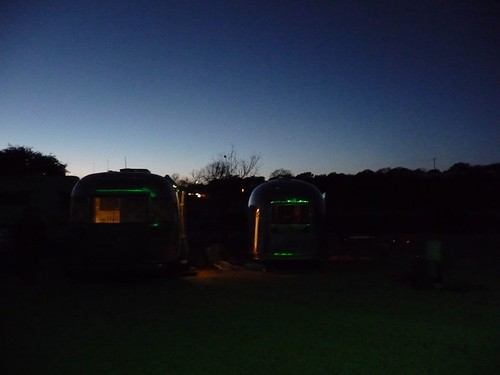 airstreams at caverns of sonora.