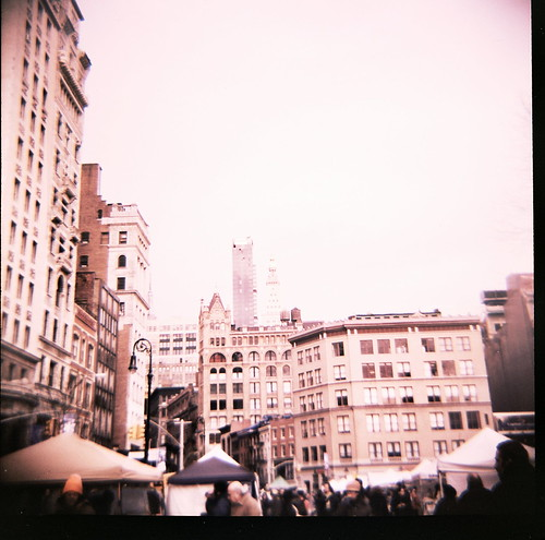 union square- while on a shoot.