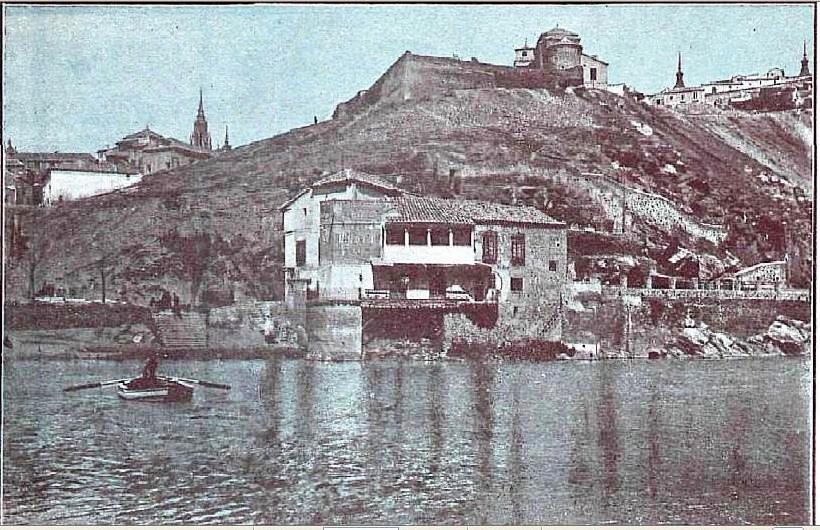 Casa del diamantista en 1915. Foto J. Reus