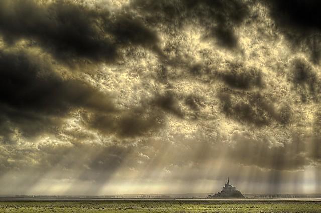 Mont St Michel (entre ciel et terre)