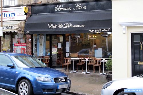Buenos Aires café, Greenwich, London