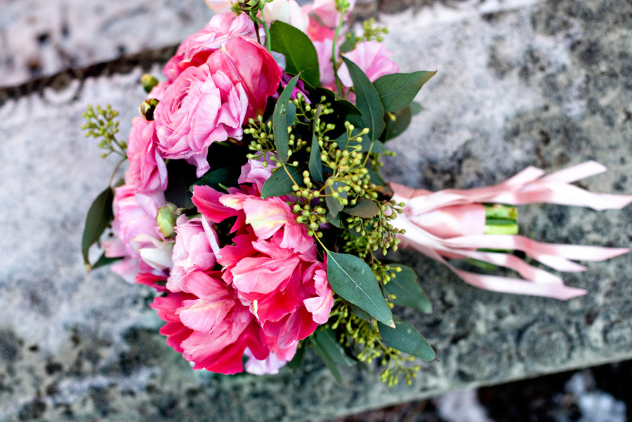 Spring bouquets shot for TheBridesCafe.com