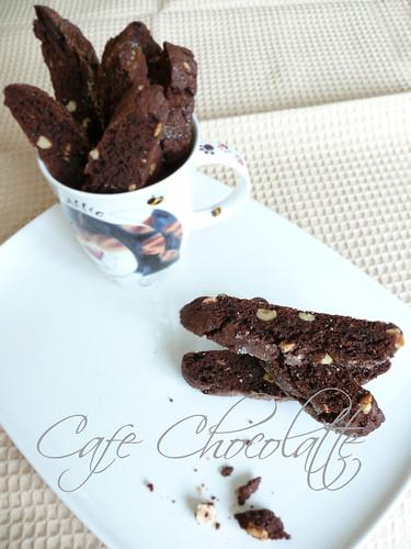 Hazelnut & Chocolate Biscotti