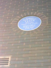 Photo of Vladimir Ilyich Lenin blue plaque