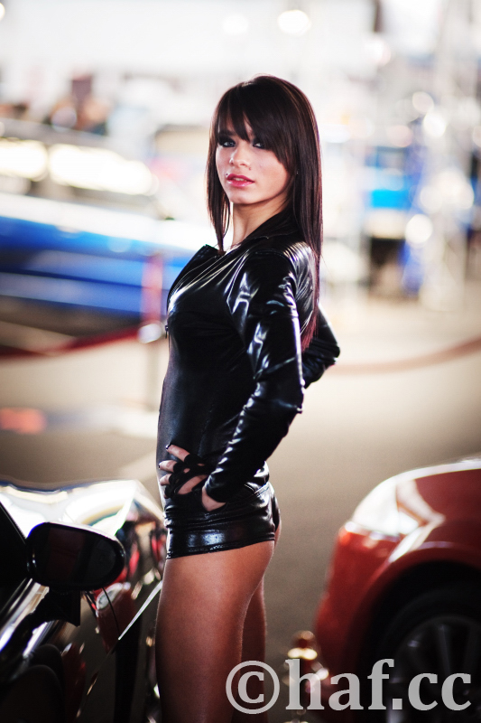 tuning show cars and girls