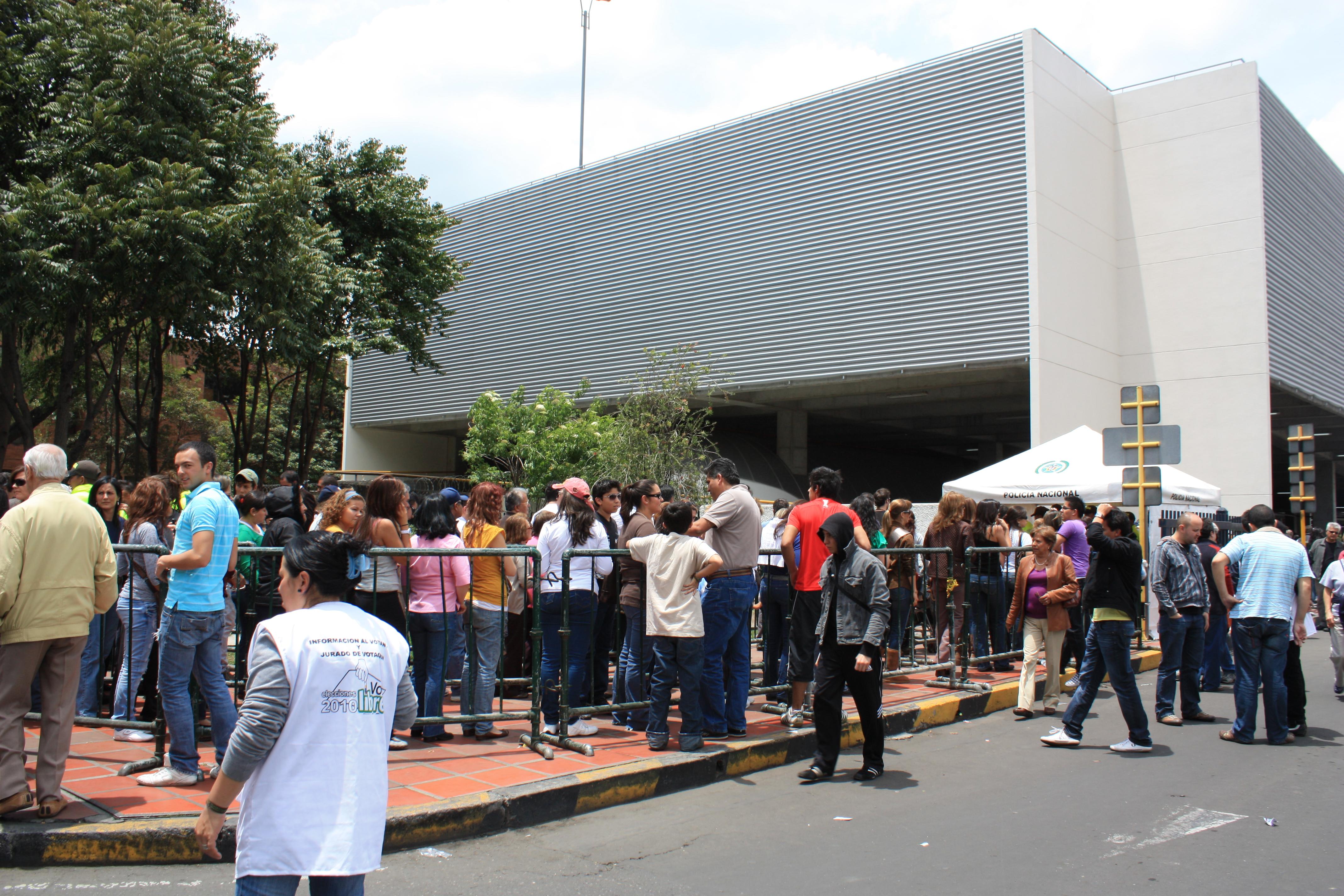 Elecciones en el norte de Bogotá