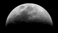First Quarter Moon (kappacygni) Tags: moon canon 450d eq6