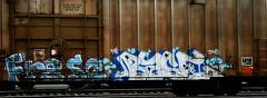 Fr8 SQ - Base (mightyquinninwky) Tags: railroad graffiti tag graf railway tags tagged railcar graff graphiti base freight reefer fs trainart rollingstock cavs paintedtrain fr8 spraypaintart movingart taggedtrain railroadart coldcar cmhx ⓝ paintedrailcar taggedrailcar fr8sq