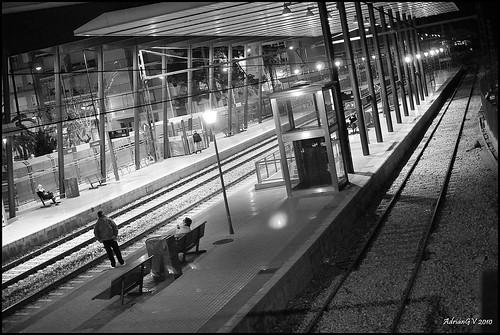 Cercanias con destino ....... by ADRIANGV2009