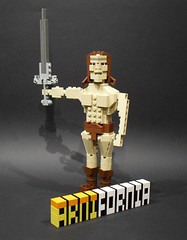 ARNIFORNIA! (Ochre Jelly) Tags: california bay francisco lego bricks arnold schwarzenegger governor convention conan arnie barbarian bbtb bricksbythebay arnifornia