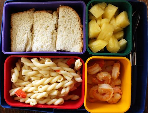 Kindergarten Bento #307: March 25, 2010