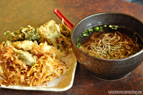 Soba Noodles with Veggie Tempura