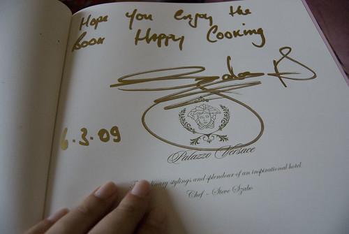 signed vanita book