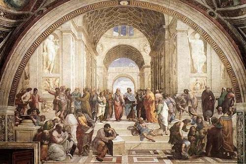 Rahael - School of Athens